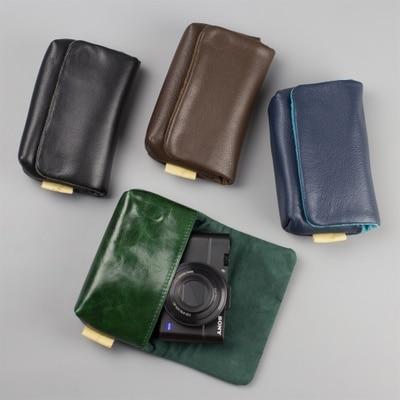 DSLR Waterproof leather Photo Camera Bag Case For Ricoh GR GR2 GRD4 nikon COOLPOX A for Fuji Fujifilm xf10 x70 SX720