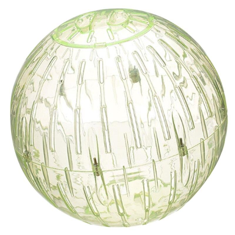 1 Uds. 19Cm hámster bola grande para correr conejillo de indias erizo hámster pelota para hacer ejercicio juguete pequeño animal de plástico para correr juguete para mascotas