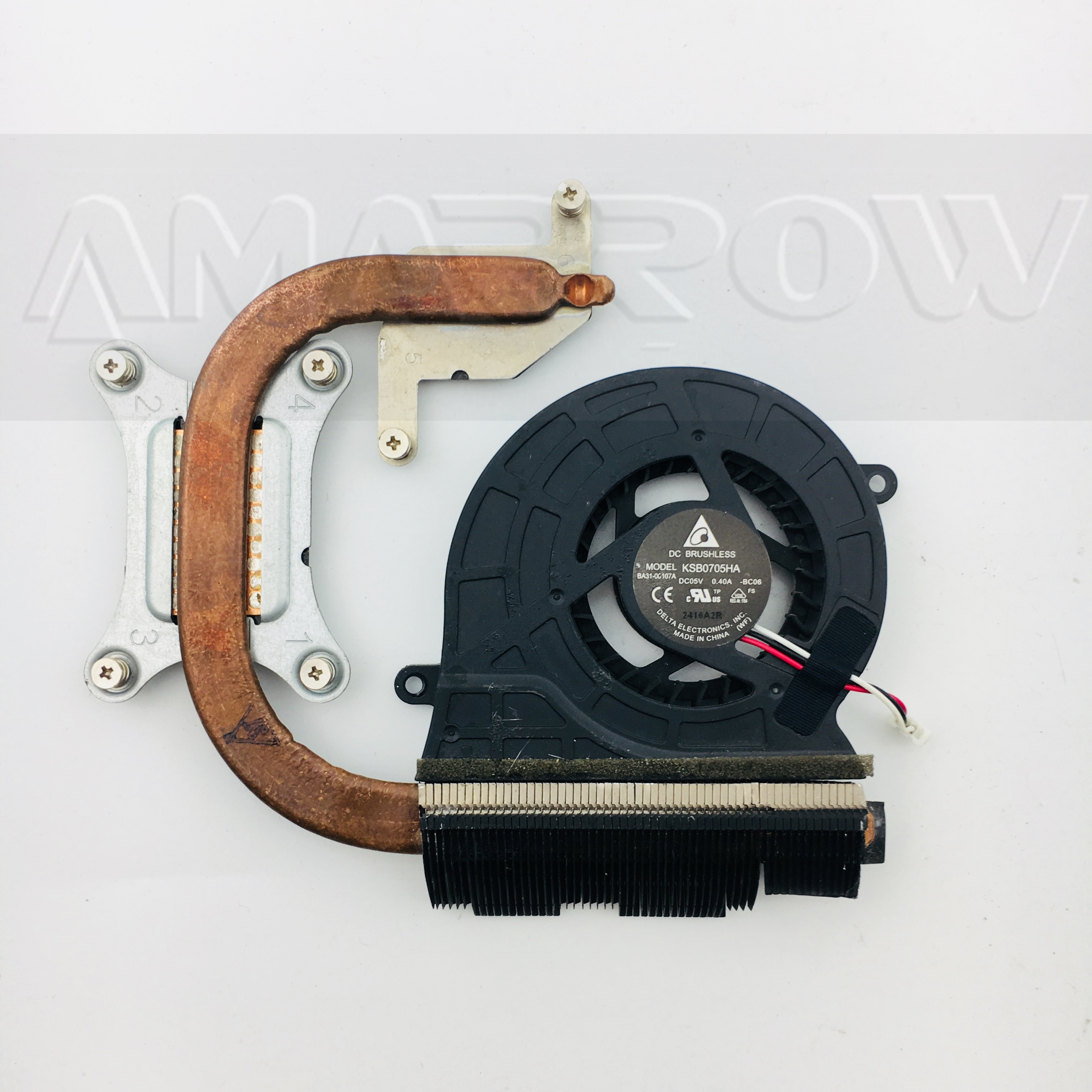 Original laptop cpu heatsink cooling fan For Samsung NP300E4A NP300V4A NP305E5A NP300E5A NP300E5C BA62-00639A BA62-00639B 00639C
