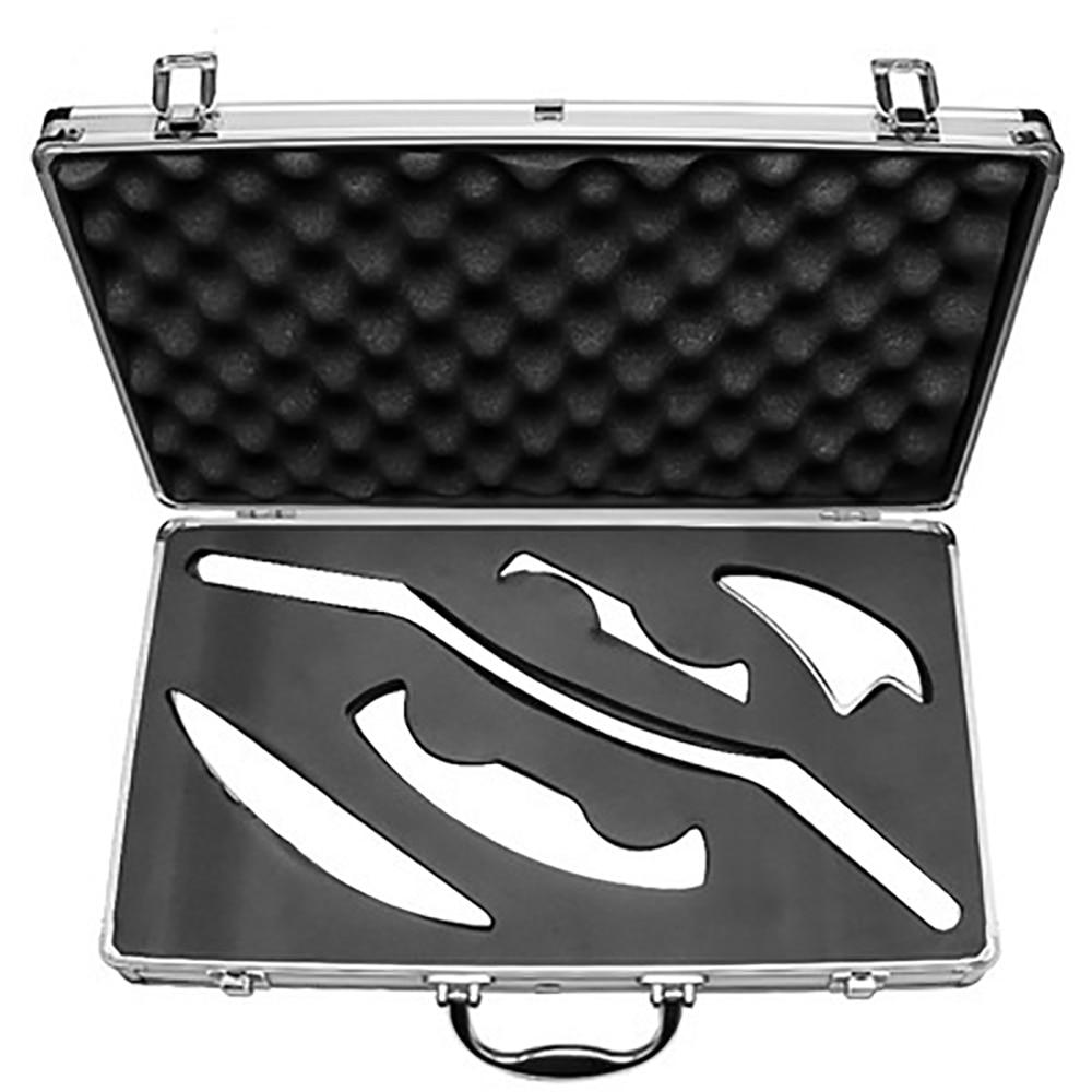 5 قطعة الطبية الفولاذ المقاوم للصدأ غواتيمالا شا مكشطة العلاج الطبيعي فآسيا سكين الليفي العضلي الإفراج IASTM أدوات العلاج الطبيعي سكين Y