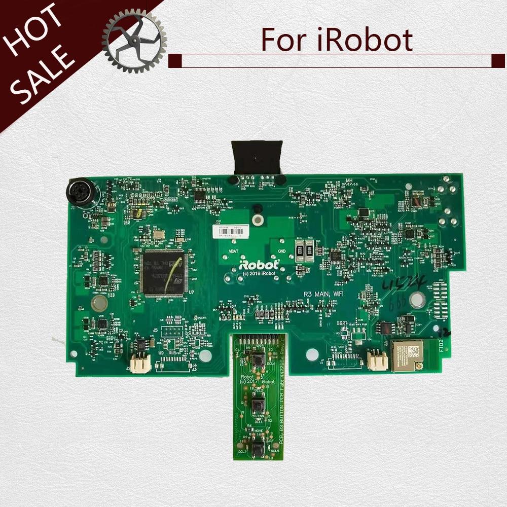 اللوحة الأم لـ iRobot Roomba 690 ، لوحة الدوائر المطبوعة البديلة للمكنسة الكهربائية ، مع وظيفة التوقيت