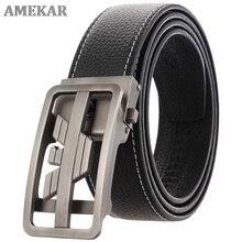Men belt male high quality leather belt men male genuine leather strap luxury pin buckle fancy vinta