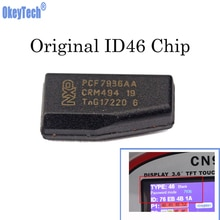 OkeyTech 10 Stuk ID46 PCF7936AA Transponder Chip Originele Copy Cloner Auto Blanks Sleutel Chip voor Key Programmeur Slotenmaker