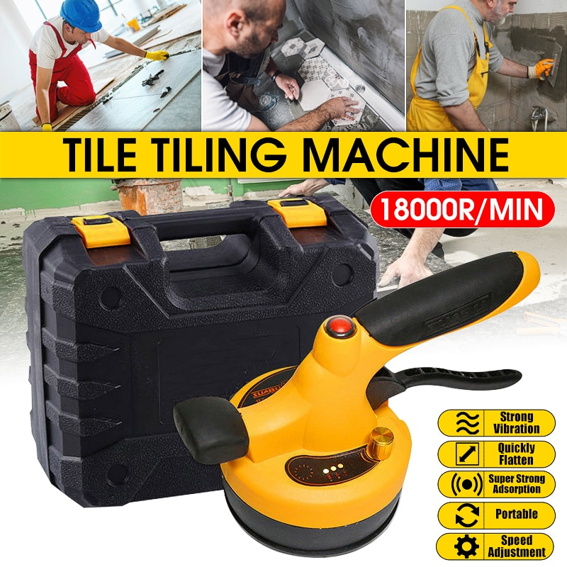 AliExpress - Professional Wireless Tile Leveling Machine Tile Floor Portable Power Tool Lithium Battery Wall Tile Vibration Leveling Tools