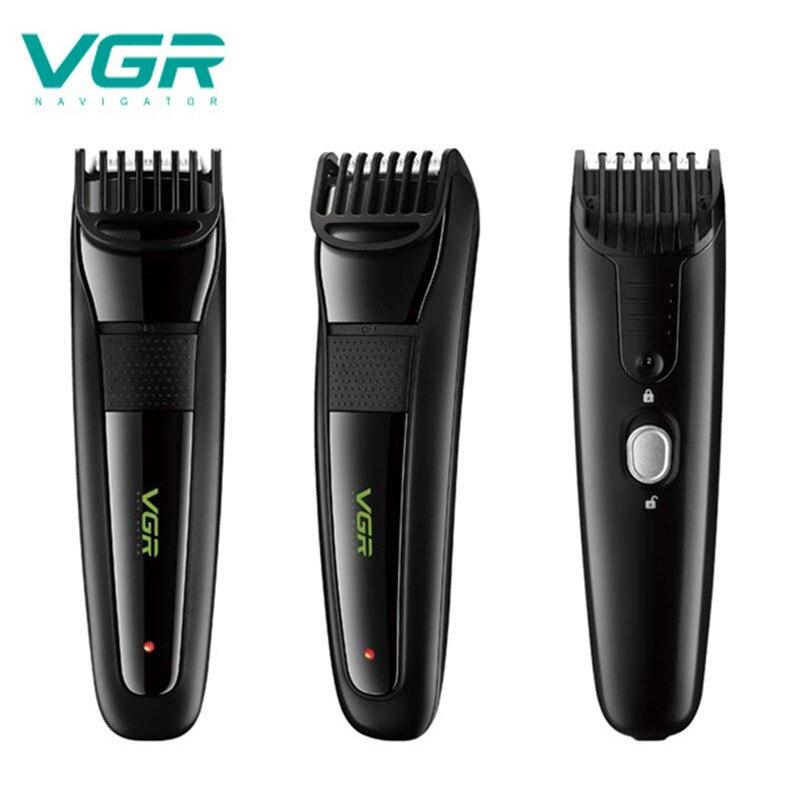 VGR V015 Multifunktions Haar Clipper USB Aufladbare Wasserdicht Professional Hair Trimmer 12 Gänge Einstellbare Elektrische Clipper