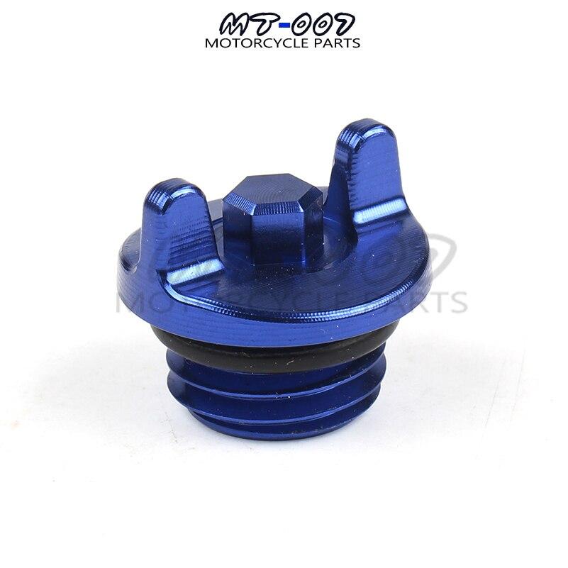 Tapón de aceite para filtro de aceite CNC para Yamaha YZ250F WR250R YZ450F WR250F WR450F accesorios para motocicleta