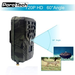 Hunting Trail Camera 5MP 720P Wildlife Game Trail Camera Motion Activated Security Animals Cam IP54 Night Vision Scouting Camera