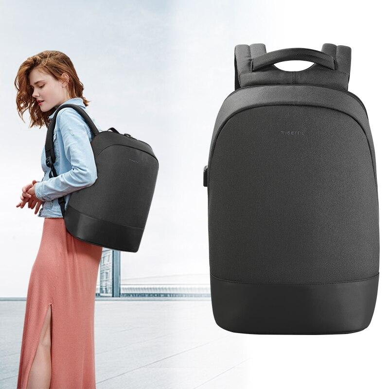 Tigernu 15,6-дюймовый ноутбук USB зарядка водонепроницаемый анти вор женщины рюкзак школьные путешествия рюкзак женские повседневные сумки для женщин