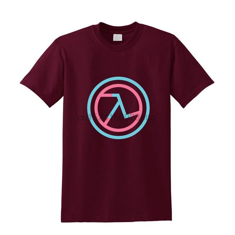 Cool game design Half Life Lambda Symbol T shirt hombre camisetas Men T-shirt half life 2 T-Shirt casual half life logo Tshirt