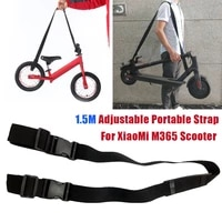 scooter skateboard adjustable shoulder strap handle bicycle balance car trolley suitable for xiaomi m365 scooter balance scooter