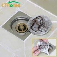 Sacs de filtre de vidange pour salle de bain et douche  100 pieces  sac en maille pour receveur de cheveux