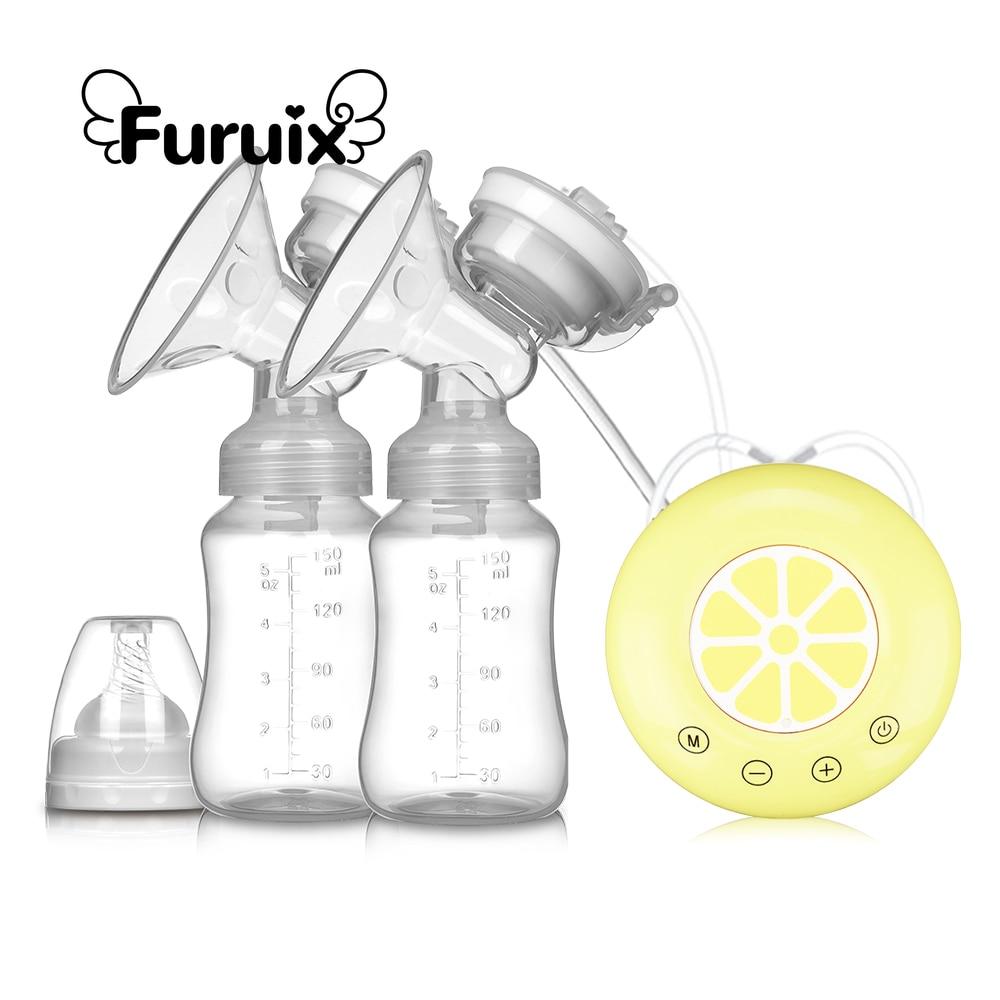 2021 Электрический молокоотсос, USB молокоотсос без БФА, безопасный удобный и портативный безболезненный перезаряжаемый молокоотсос