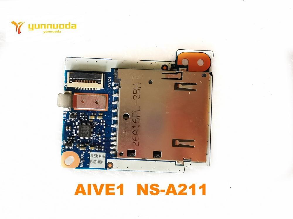 الأصلي لينوفو E450 E450C بطاقة قارئ BoardAIVE1 NS-A211 اختبار جيد شحن مجاني