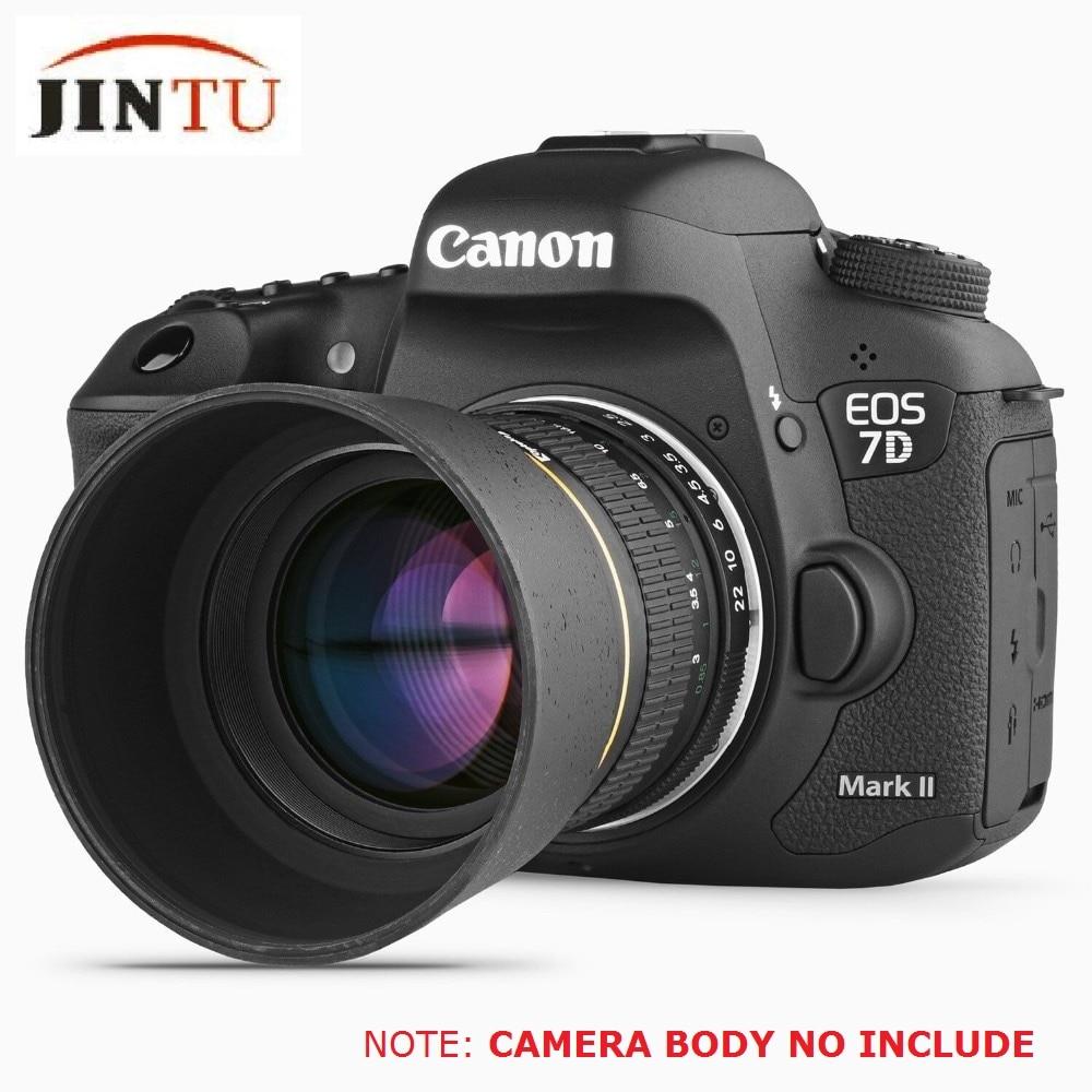 عدسة JINTU 85 مللي متر F1.8 ، تركيز يدوي ، إطار كامل ، عدسة رئيسية ، لكاميرات CANON EOS EF الرقمية DSLR