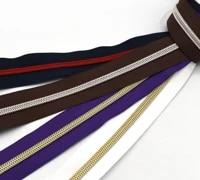 size 5 nylon zipper tape slide with plastic teeth making 34 colorful coil zipper zipper heads handbag purse sewing hardware