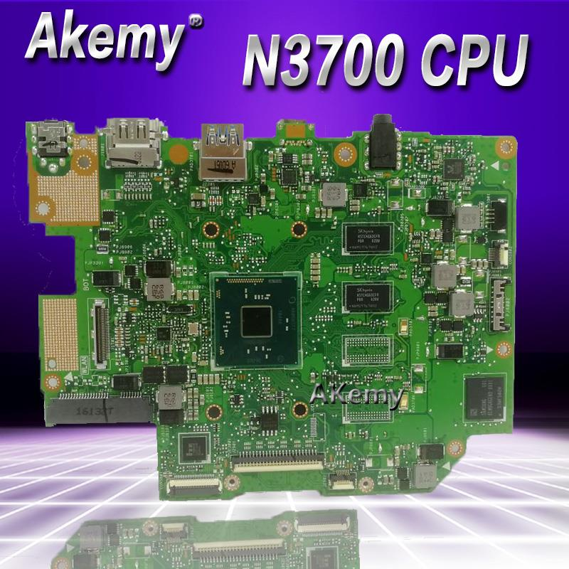 Akemy E403SA اللوحة الام لاسوس E403SA E403S اللوحة الام تعمل 100% اختبار الأصلي N3700 4 النوى 2G RAM 32G SSD