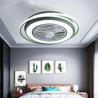 55cm ceiling fan remote control fan lamp silent motor modern electric fan bedroom round square ceiling decoration free shipping
