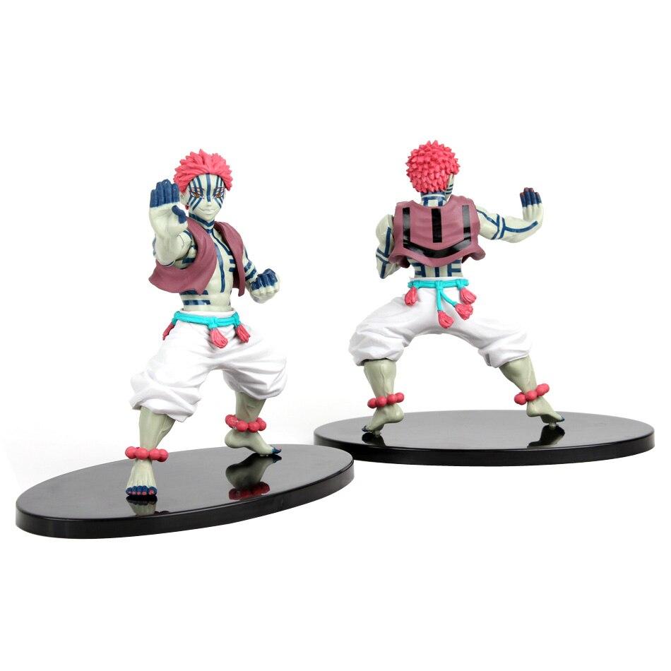 Demon Slayer Figure Kamado Tanjirou Nezuko Anime figure Action Figures PVC Model Toys Zenitsu Figurine Inosuke Kimetsu No Yaiba
