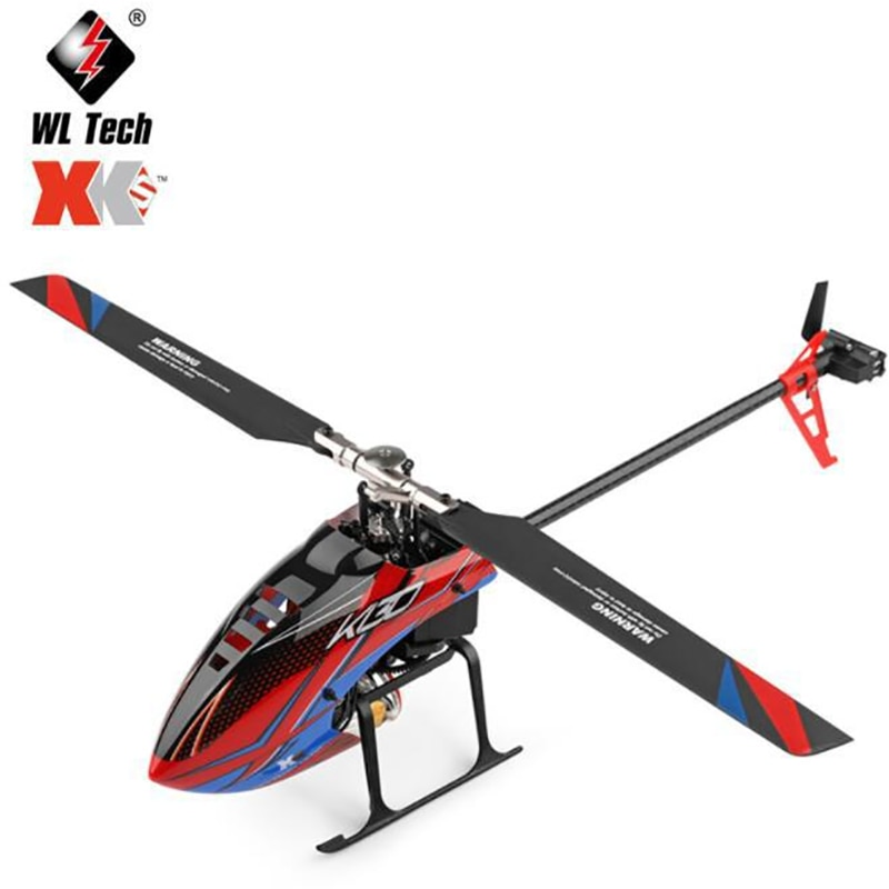WLtoys XK K130 RC Helicopter 2.4G 6CH Brushless 3D6G System Flybarless BNF Compatible with FUTABA S-FHSS Toys Gifts wltoys v911s rc helicopter 2 4g 4ch 6 aixs stunt gyroscope flybarless rtf 3 7v 250mah rtf bnf model toys lipo battery rc airplan