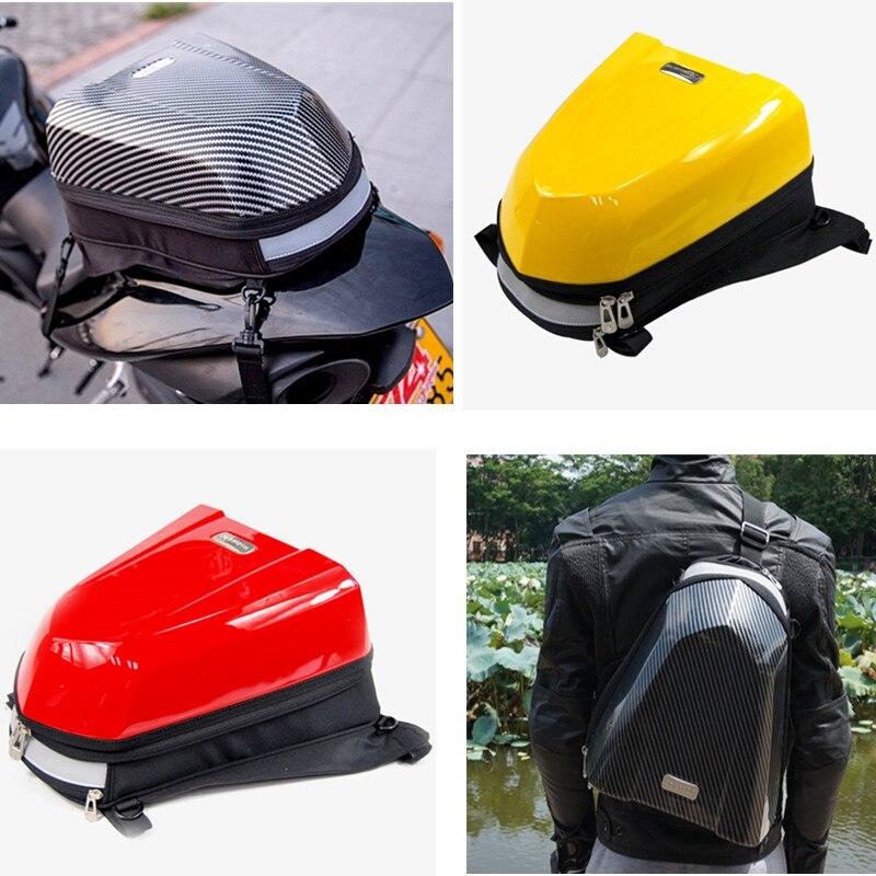 حقيبة ظهر مقاومة للماء للدراجات النارية ، حقيبة ظهر مقاومة للماء ، متعددة الوظائف ، للدراجات النارية ، الخزان ، حقيبة السرج