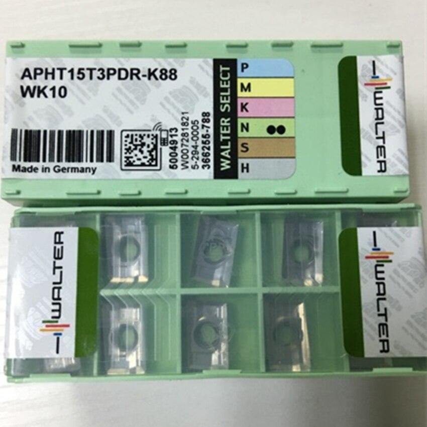 Walter APHT15T3PDR-K88 wk10 inserções de carboneto cnc novo 10 peças