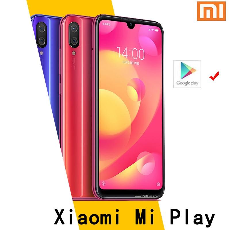 هاتف شاومي مي بلاي الذكي Mediatek MT6765 Helio P35 الذكي 1080x2280 بيكسل