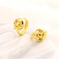 earrings womens small circl silver 2021 new trend exaggeration temperament personality fine gold fashion smart jewelry