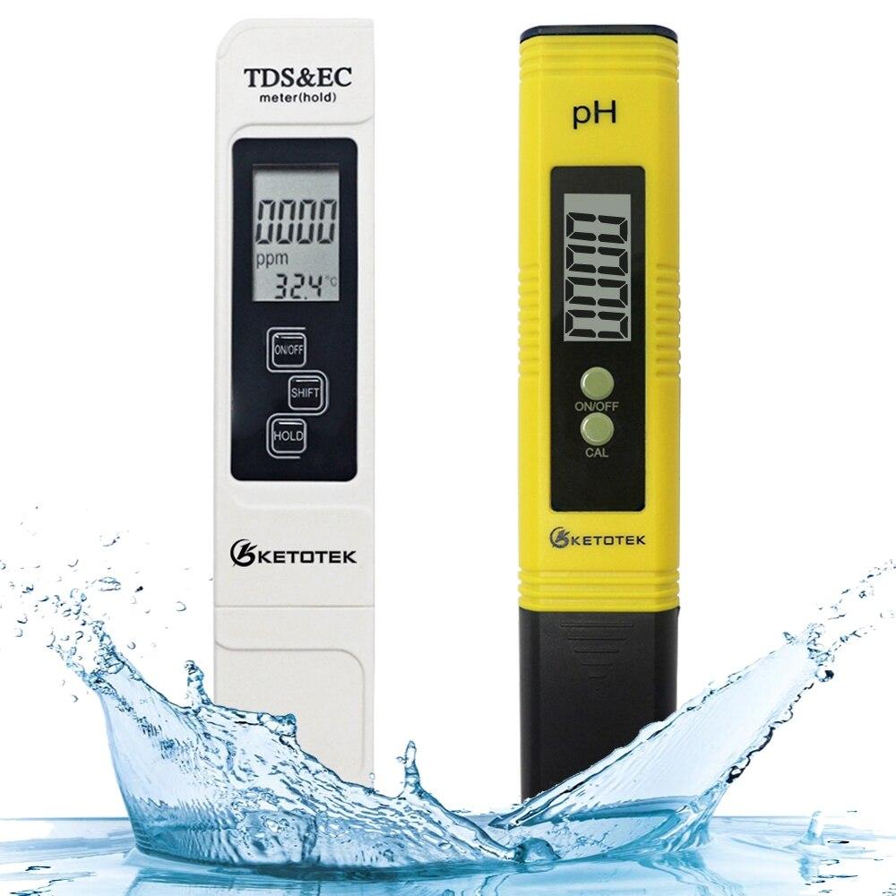 Измеритель PH TDS EC цифровой ЖК-дисплей инструменты для тестирования воды ручка чистоты фильтра гидропоники портативный PPM датчик качества воды