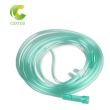 1Pc Oxygen Cannulas Nasal Oxygen Tube Hose Disposable Adult Tube Flexible Tip Soft Nasal Useful