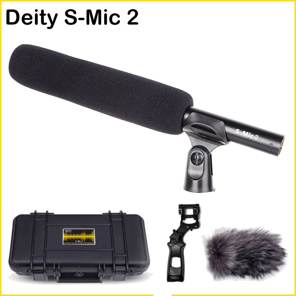Aputure Deity S-Mic 2 ميكروفون مكثف قلبي فائق فيديو ميكروفون منخفض الضوضاء اتجاهي ميك مرحبا الدقة بث استوديو