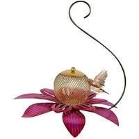 garden bird feeder flower design bird feeder hanging bird seed feeder for outdoors home garden hummingbird feeder feeding bird