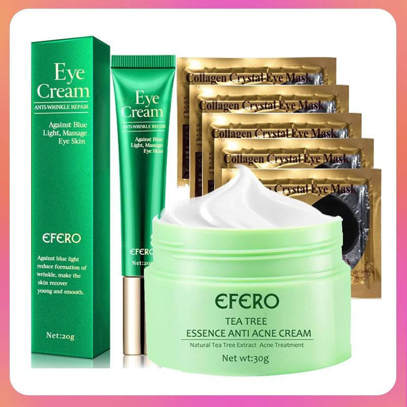 Face Care Day Cream Anti-aging Anti Wrinkle Eye Cream Patch Under Eye Mask Acne Treatment Moisturizing Whitening Face Cream