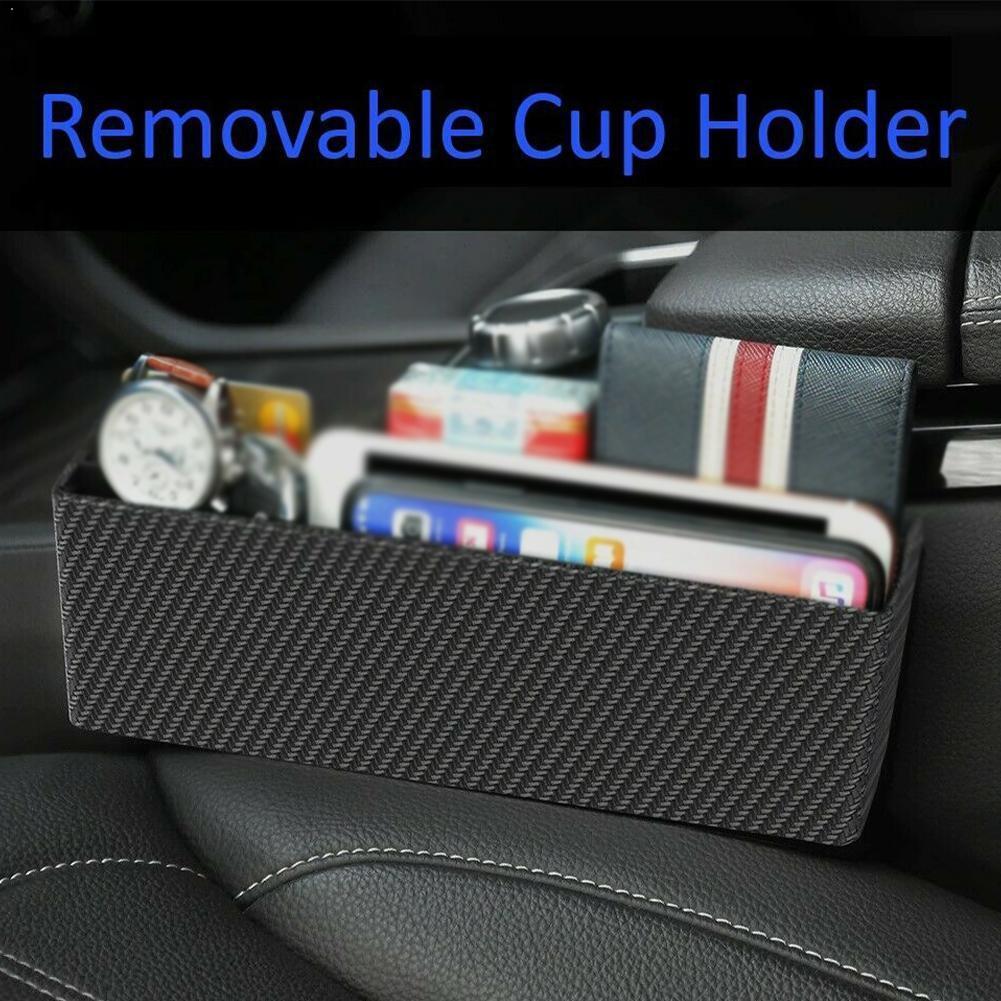 Caja de almacenamiento para coche, costura de asiento, Teléfono de almacenamiento de...