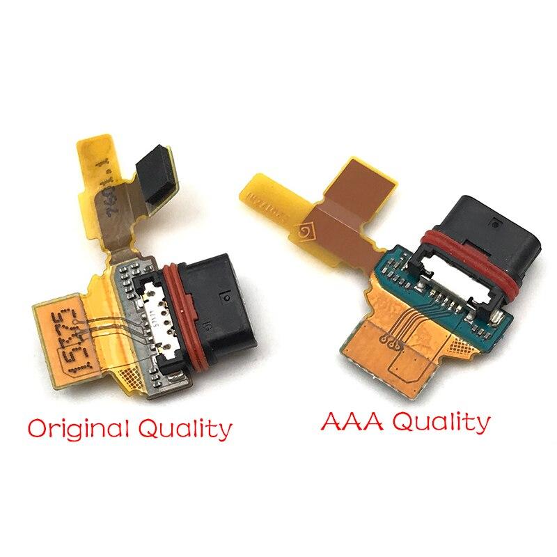 Original para Sony Xperia Z5 compacto E5803 E5823 de carga de puerto de Puerto Micro USB conector Flex Cable