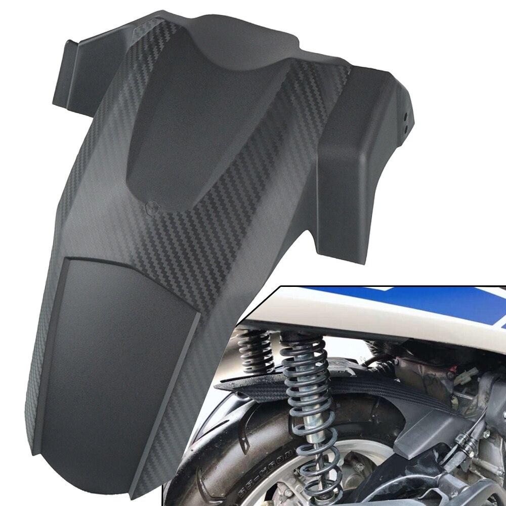 N-MAX155 16-19 accesorios de motocicleta guardabarros trasero protector de salpicaduras fibra de carbono para Yamaha N MAX NMAX 155 2016 2017 2018 2019