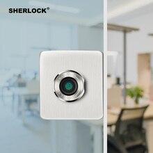 Serrure de porte intelligente à empreintes digitales   Pour bureau, porte en verre sans clé, verrouillage intégré électrique, chargeur de sécurité Rechargeable par USB
