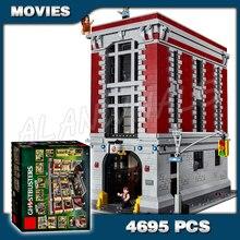 586 pièces Ghostbusters Ecto-1 & 2 film voitures de Police 16032 Figure blocs de construction assembler enfants garçons Compatible avec Lago
