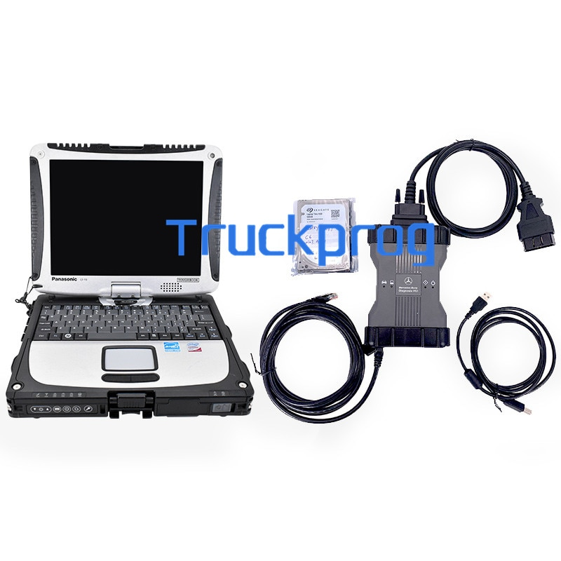 MB star C6 Multiplexer PK SD Connect c4/c5/c6 Xentry Epc Wis+CF19 Laptop For BENZ CAR truck diagnost