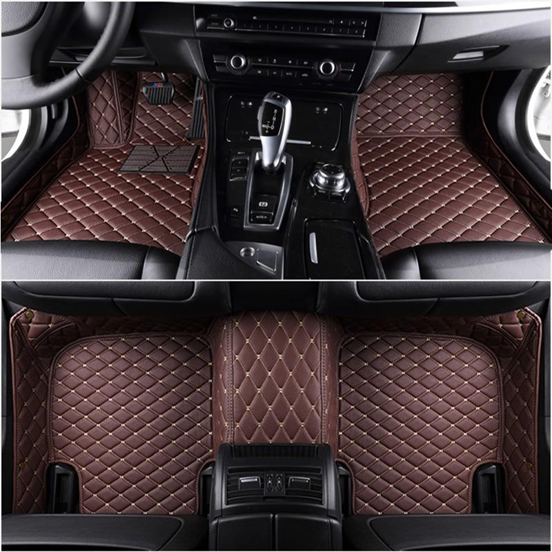 مخصص 5 مقعد سيارة الحصير لهوندا سيفيك أكورد مدينة brv 2000 - 2020 الحصير سيارة اكسسوارات السيارات
