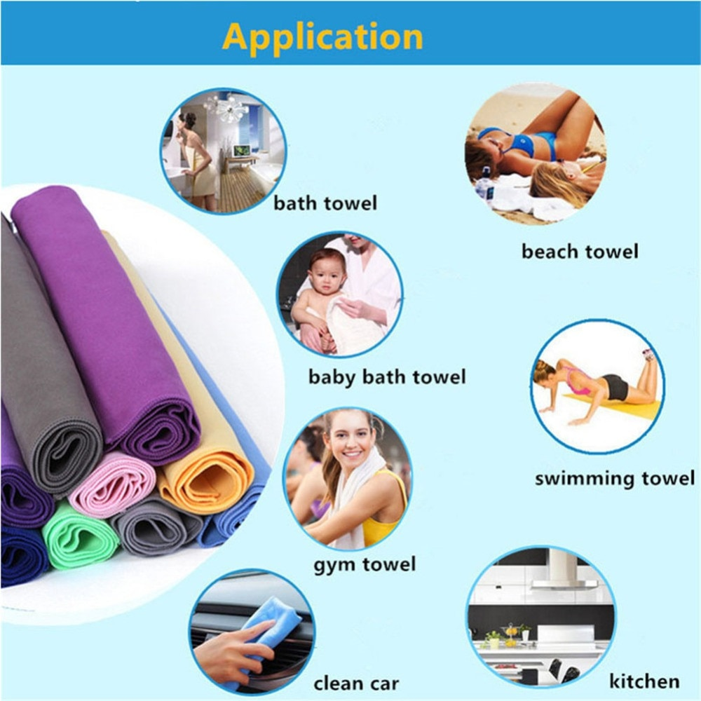 New Arrival Style Microfiber Comfort Bathing Towels Black Cat Printing High Absotbent Hotel Bathroom Quick Dry Face Hair Toalla