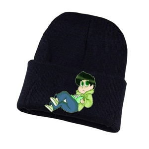 Anime Osomatsu-san Knitted Hat Cosplay Hat Unisex Print Adult Casual Cotton Hat Teenagers Winter Knitted Cap