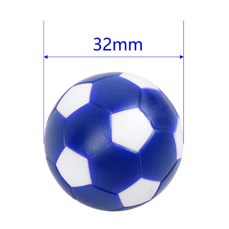 12 шт. разноцветные настольные футбольные мини-мячи, настольные мини-мячи для игры в помещении, детские игровые игрушки, пластиковые спортив...