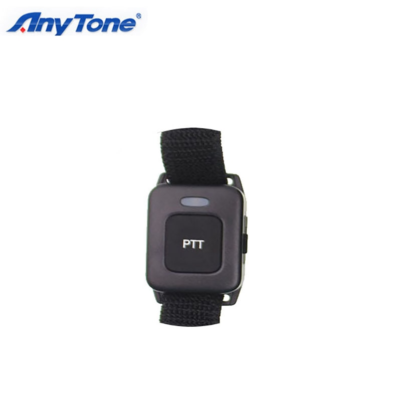 Dos Radio Bluetooth PTT para Anytone AT-D878UV más AT-D578 Pro GPS APRS DMR analógica Walkie Talkie