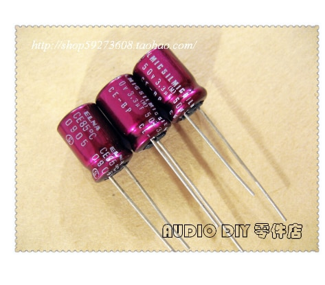 ELNA SILMIC 3.3uF/50V Audio Non-Polar Electrolytic Capacitor