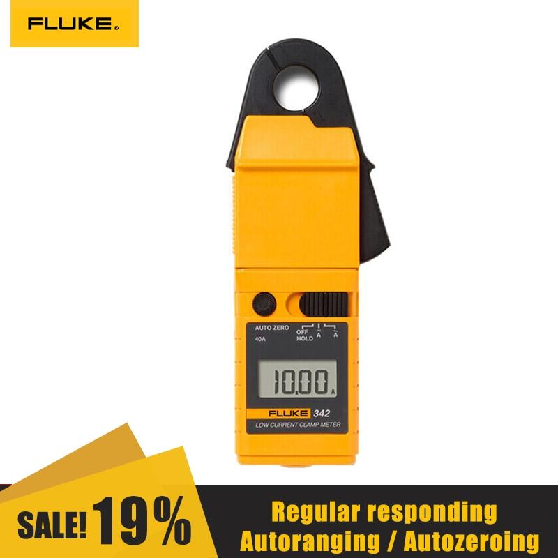 FLUKE F342/F381 Высокоточный True RMS клещи 1000V/1000A + ЧУВСТВИТЕЛЬНЫЙ зажим Тип Универсальный измеритель процедуры отбора Дисплей