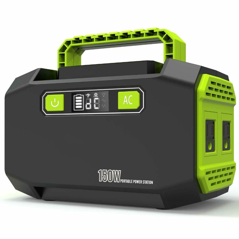 Portable Power Generator Emergency Backup Power Bank 45000mAh High Capacity Power Supply Power Stati