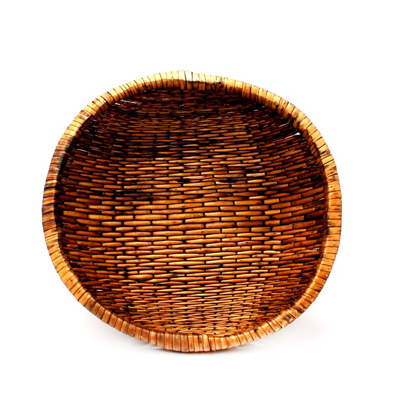 Newborn Photography Props Handmade Rattan Round Basket Baby Photo Posing Fotografia Accessories Basketful For Newborn