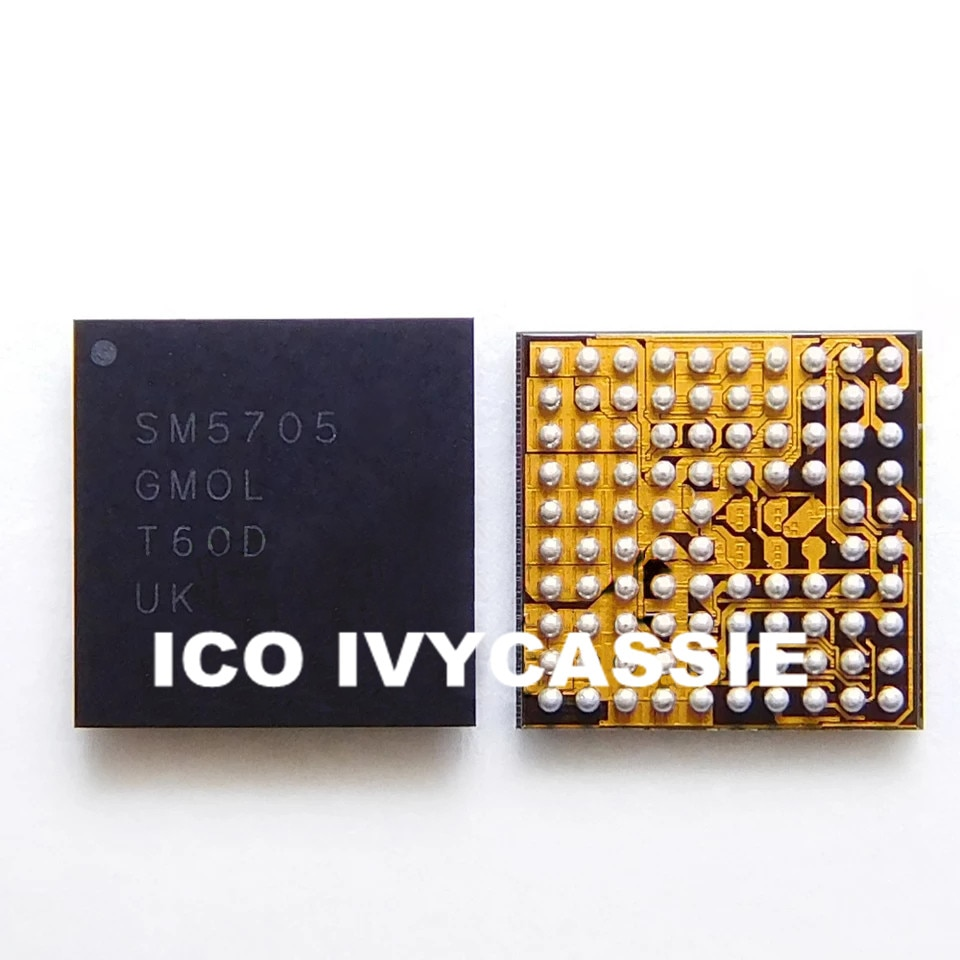 SM5705 para Samsung A5100 J500F cargador IC USB chip de carga