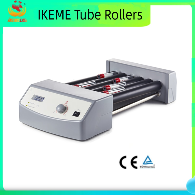 Lab Blood Roller Mixer Can Load 6 Rollers Blood Tube Adjustable Speed 0-70 Rpm Laboratory Equipment Tube Roller Device