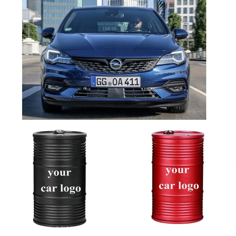 Cenicero logotipo insignias emblema para Opel zafira b tourer c p12 ADAM Agila un Agila B AMPERA ANTARA ASTRA K Combo